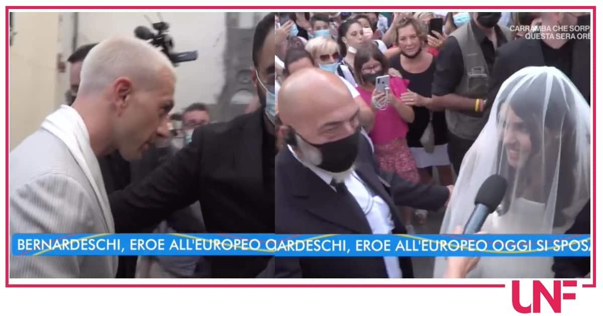 Il matrimonio di Bernardeschi: il calciatore fa attendere la bellissima Veronica Ciardi
