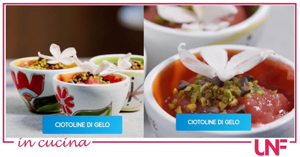 Gelo di anguria, la ricetta dolce estiva di Giusina in cucina