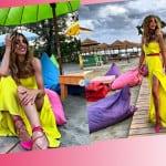 Margherita Zanatta sceglie il giallo per le nozze di Veronica Ciardi