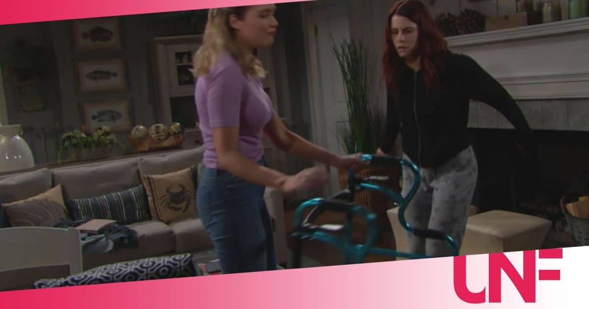 Beautiful anticipazioni: Flo smaschera Sally che la colpisce, che fine farà?