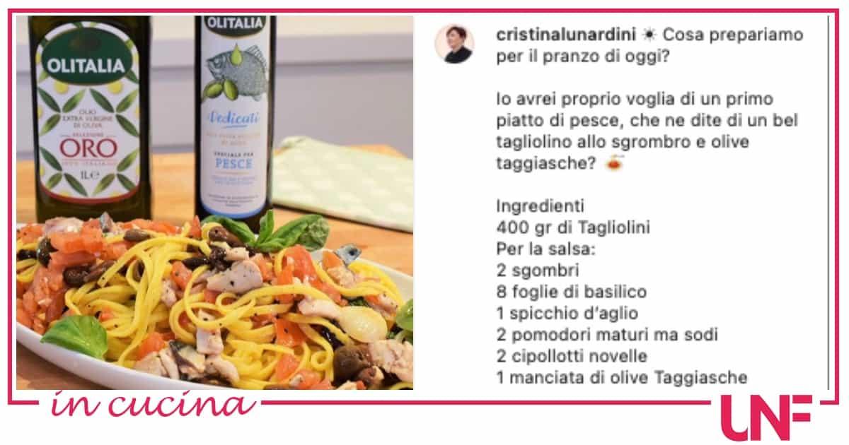 Tagliolini sgombro e olive, la ricetta di Zia Cri