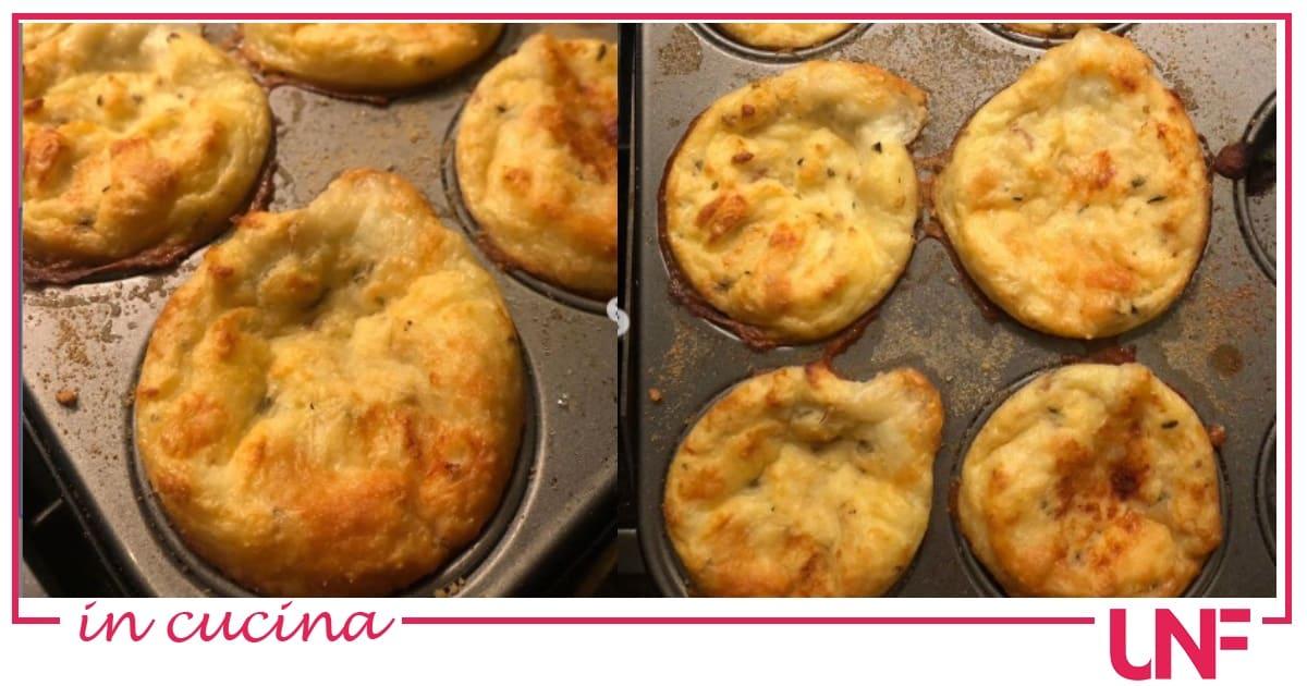 Mini gateau buonissimi, la ricetta di Luisanna Messeri