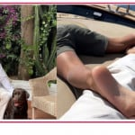 Santiago e Stefano De Martino in vacanza insieme dopo la nascita di Luna