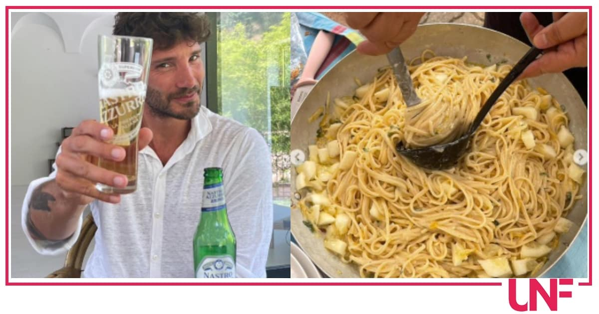 Stefano De Martino accontenta le fan con la ricetta degli spaghetti al limone (Video)
