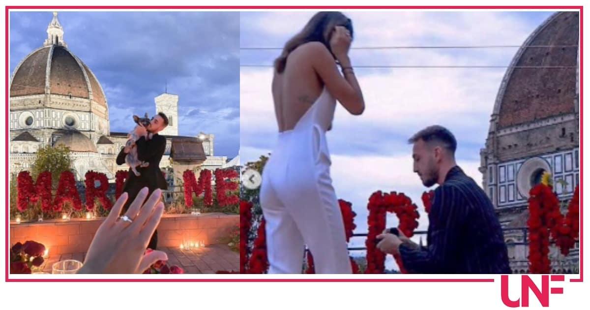 Anche Castrovilli si sposa: la proposta di matrimonio all'ex Miss Italia