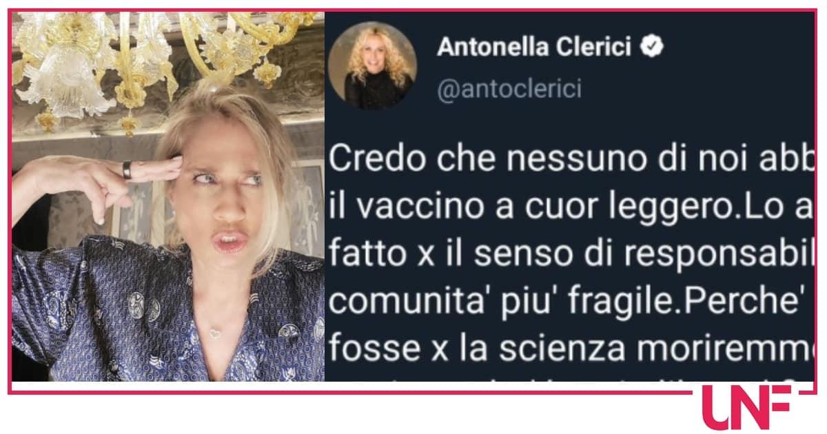 Heather Parisi attacca Antonella Clerici, è polemica sui vaccini
