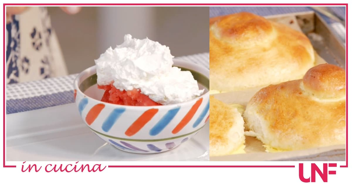 La ricetta della granita di fragole di Giusina in cucina