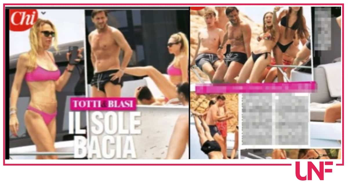 Ilary Blasi e Francesco Totti in barca con la famiglia: che fisici scolpiti (Foto)