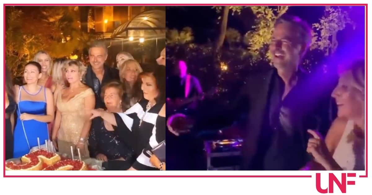 Gran party per Beppe Convertini che ha festeggiato il compleanno con tanti vip