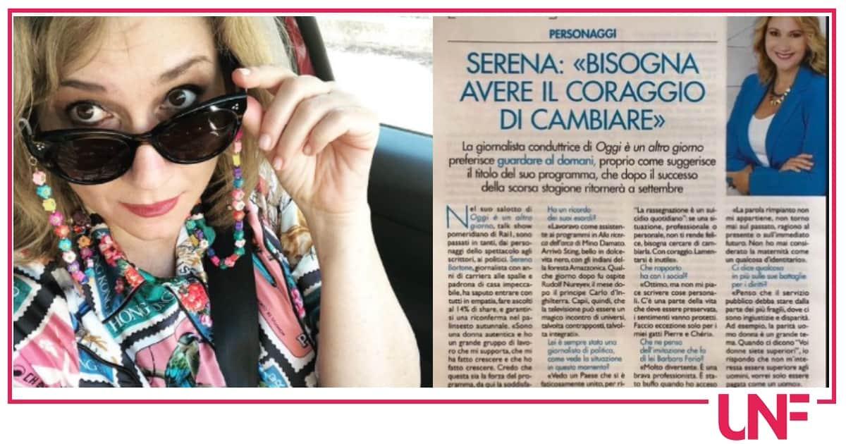 Serena Bortone niente matrimonio e figli ma non ha rimpianti