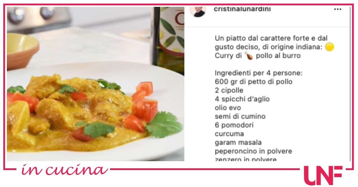 Ricette di Zia Cri: curry di pollo al burro