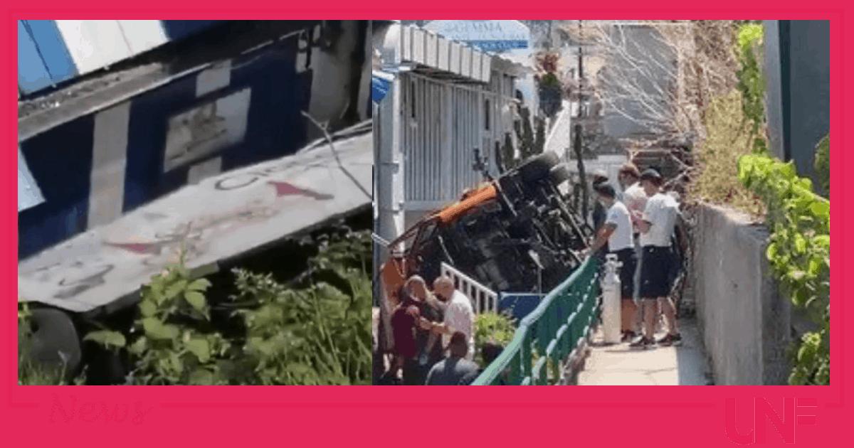 Incidente a Capri mini bus vola su stabilimento: c'è un morto e diversi feriti gravi