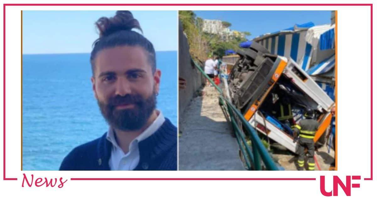 Emanuele Melillo non ce l'ha fatta: morto il giovane autista del mini bus di Capri