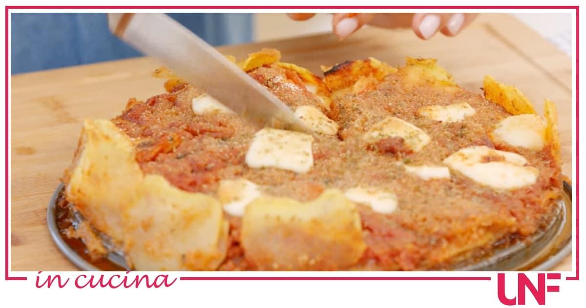 Ricette Giusina in cucina, sformato di patate a sfincione