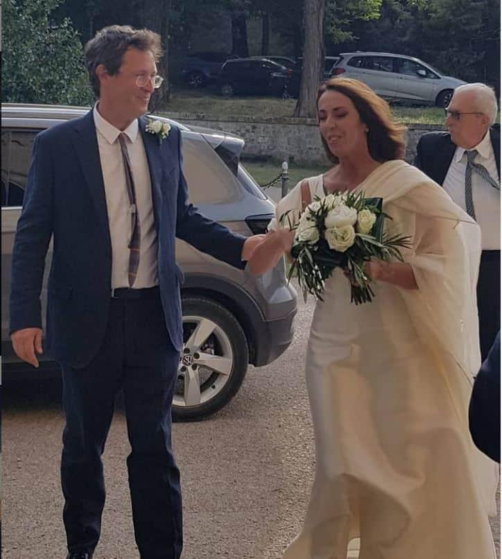 Alessandra Sardoni si è sposata: Enrico Mentana paparazzo d'eccezione