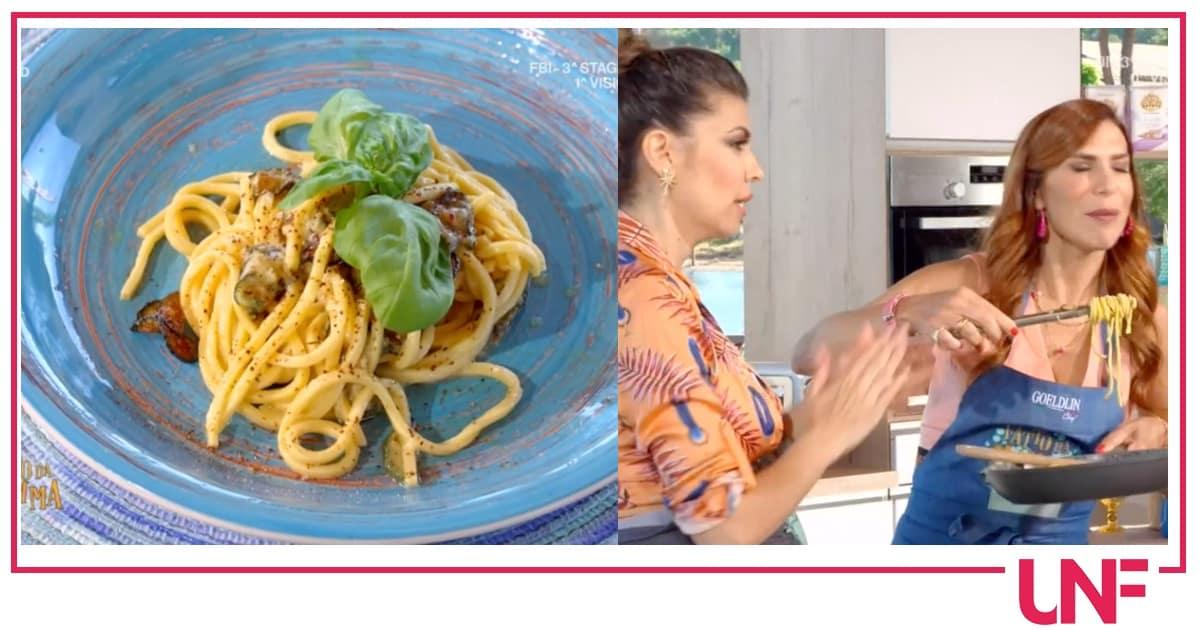 Ricette Fatto da mamma: spaghetti alla Nerano con Flora Canto e Veronica Maya
