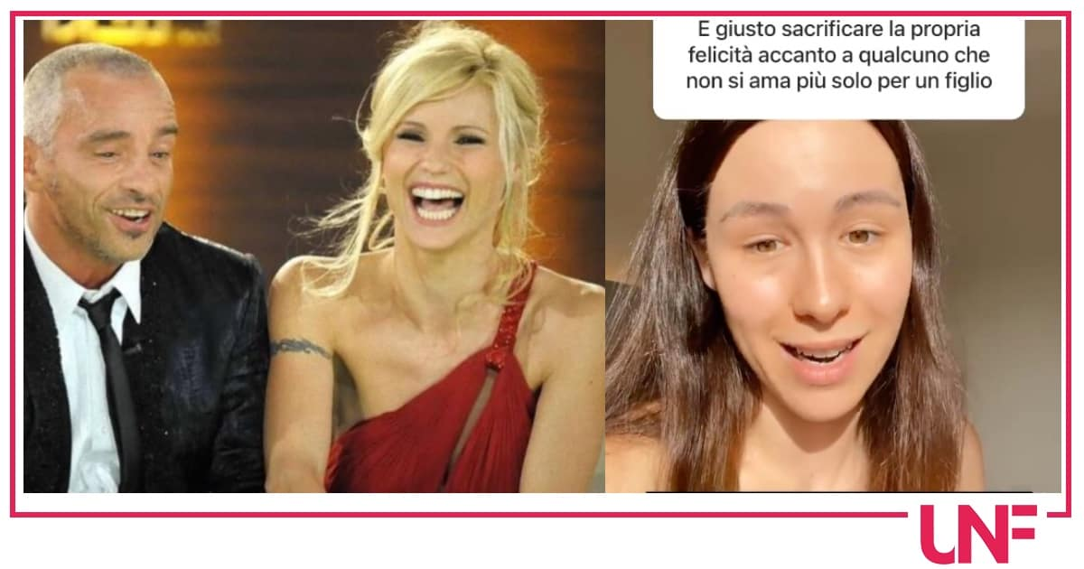 Aurora Ramazzotti parla della fine del matrimonio di Eros e Michelle