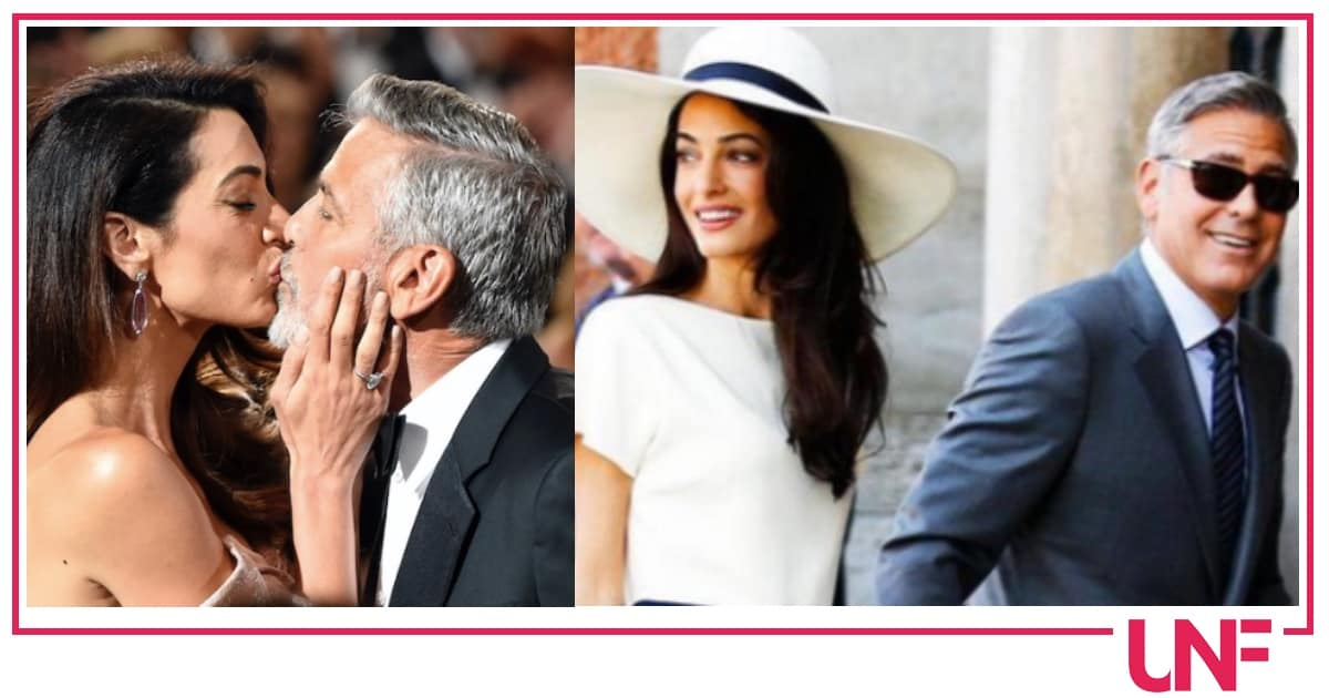 Amal Alamuddin è incinta, i Clooney aspettano il terzo figlio?