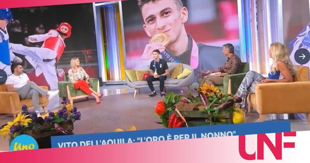 La figuraccia di Beppe Convertini con il campione olimpico Vito dell'Aquila: imbarazzante