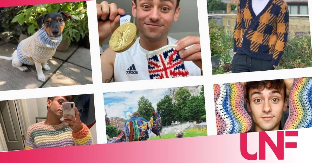 Tutti pazzi per i lavori a maglia del campione olimpico Tom Daley: più di 400 mila follower