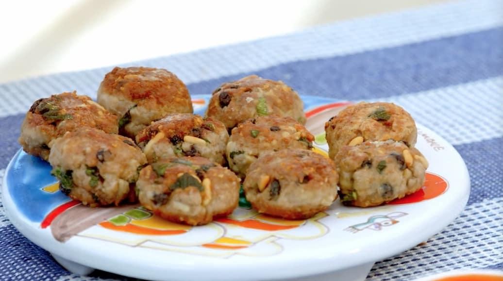 Ricette siciliane, polpette di tonno di Giusina in cucina