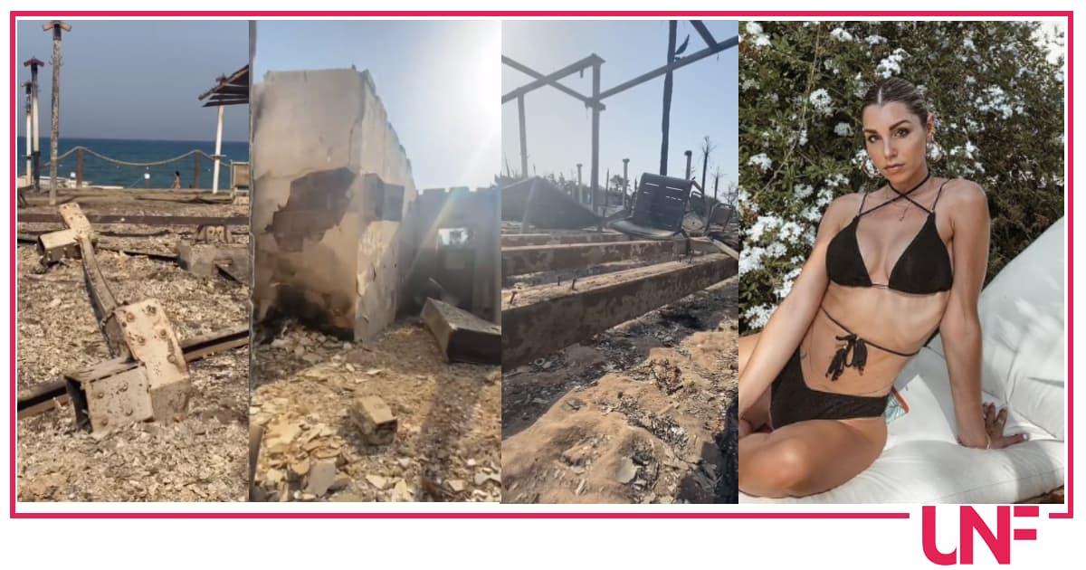 """In fiamme il lido della ballerina di Amici Susy Fuccillo a Catania: """"Violentata nell'anima"""""""