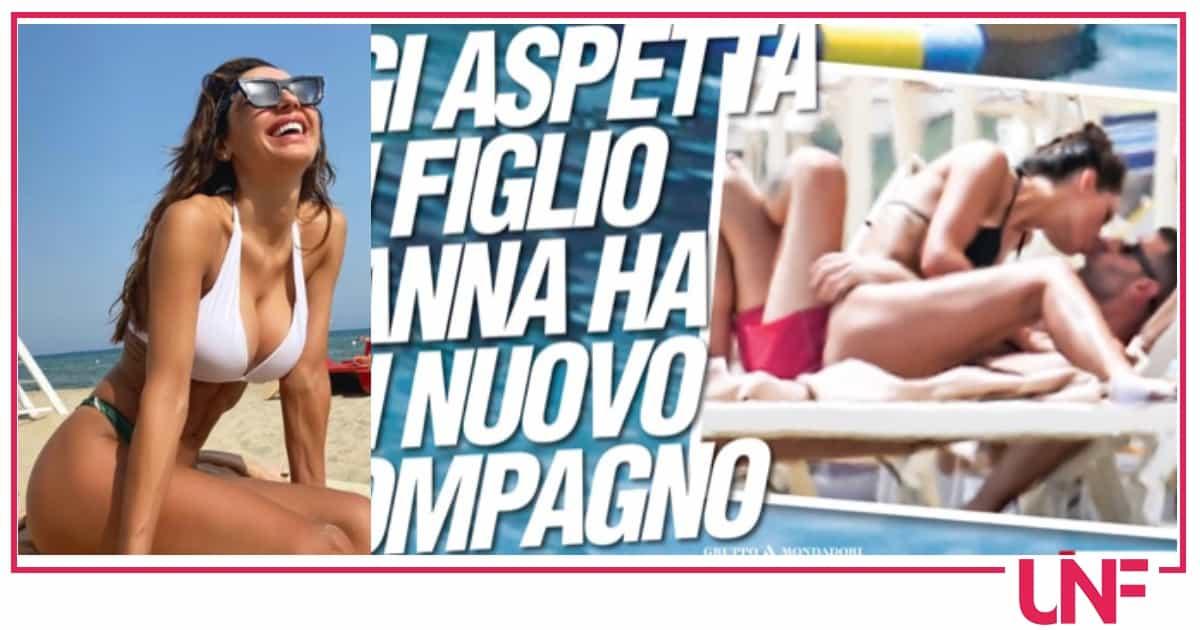 Le prime foto di Anna Tatangelo con il nuovo compagno: è Livio Cori a renderla felice
