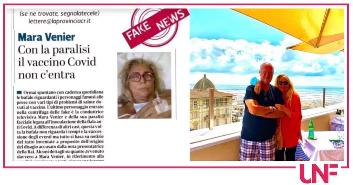 """Mara Venier sui social: """"Con la paralisi il vaccino Covid non c'entra"""""""
