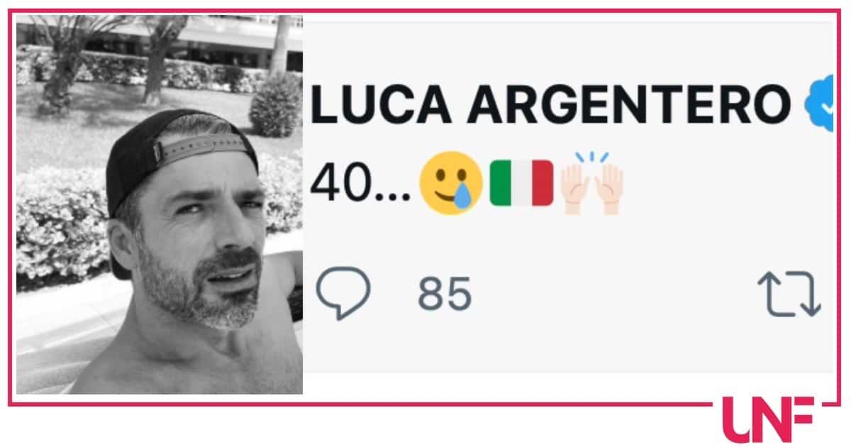 Simona Ventura fa gli auguri a Luca Argentero ma lui festeggiava le 40 medaglie dell'Italia