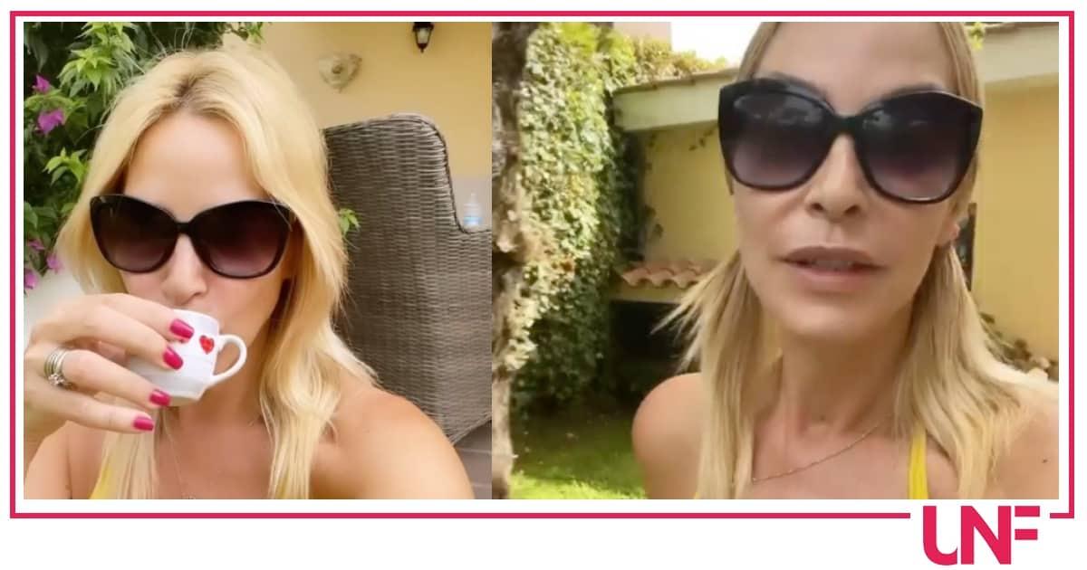 Stefania Orlando delude una fan ma lei risponde che era in vacanza col marito