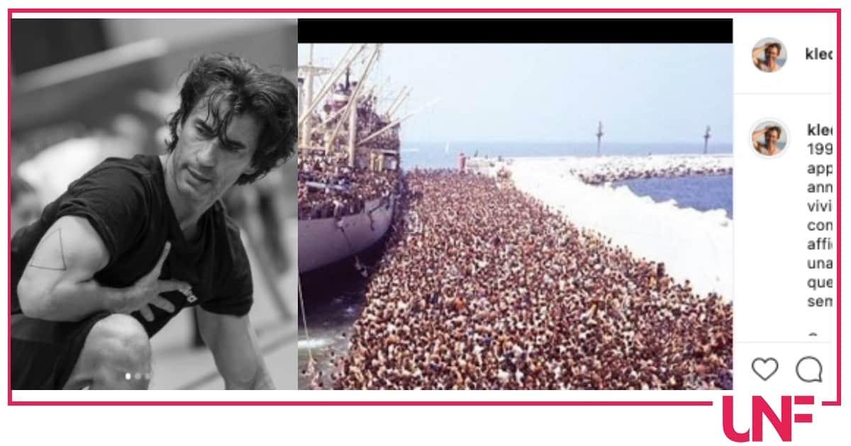 Kledi Kadiu non dimentica lo sbarco a Bari, tra i profughi c'era anche lui