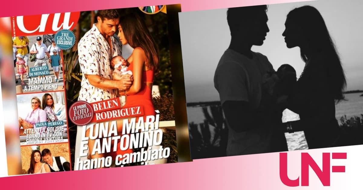 Per Belen Rodriguez e Antonino Spinalbese un anno d'amore e quella proposta quotidiana
