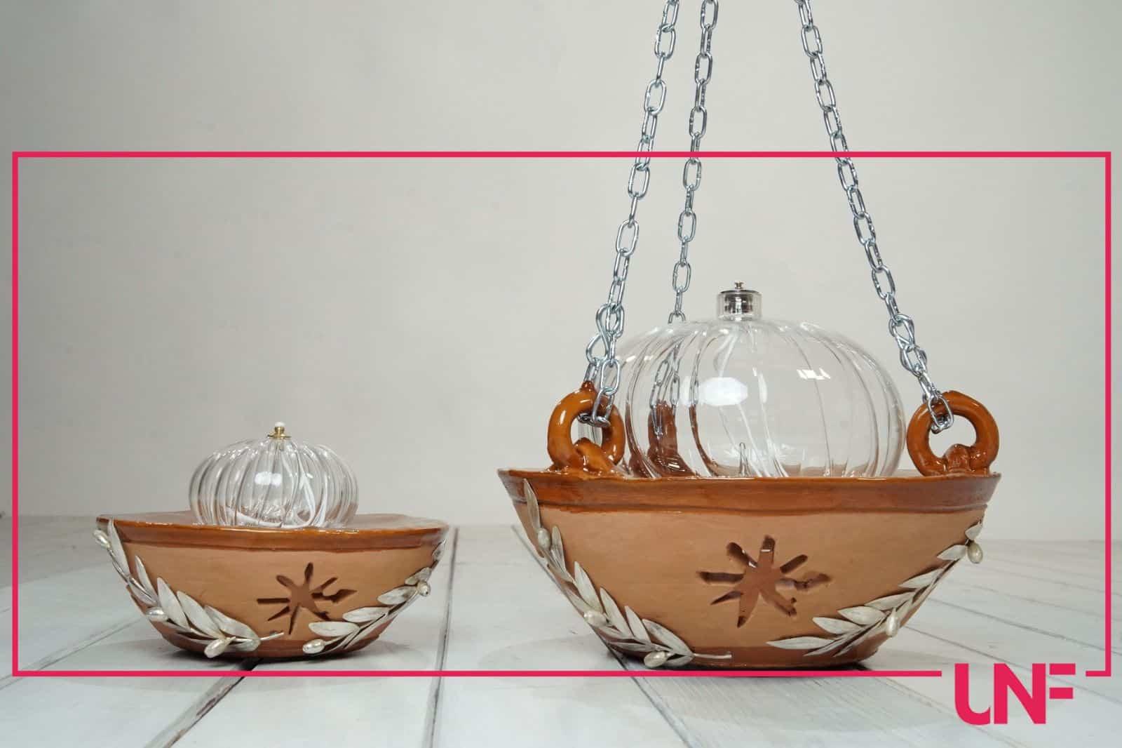 Marco Simone realizza due opere: le lanterne per il Santuario di Santa Maria di Leuca