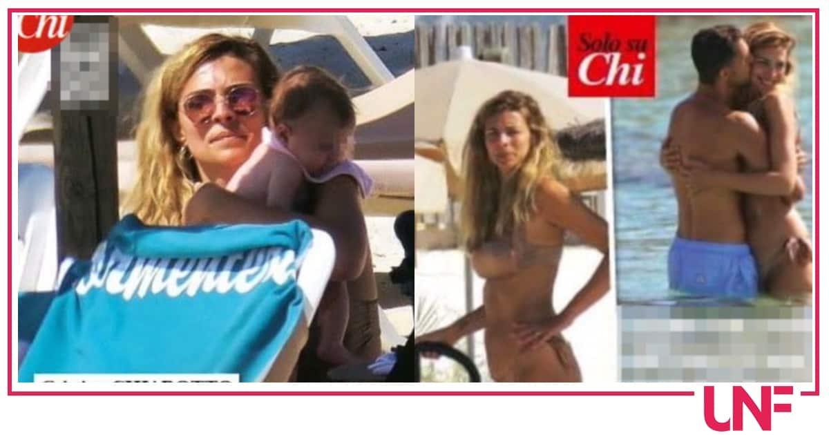 Cristina Chiabotto al mare con la figlia in un'estate difficile (Foto)