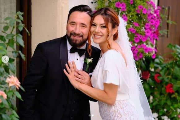 Il matrimonio di Federico Zampaglione e Giglia Marra: bellissimi nel giorni del si (FOTO)