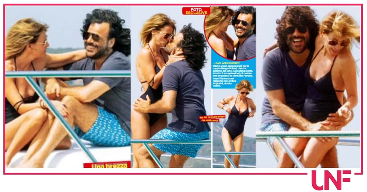 Francesco Renga e Diana Poloni insieme in barca, sono foto rare