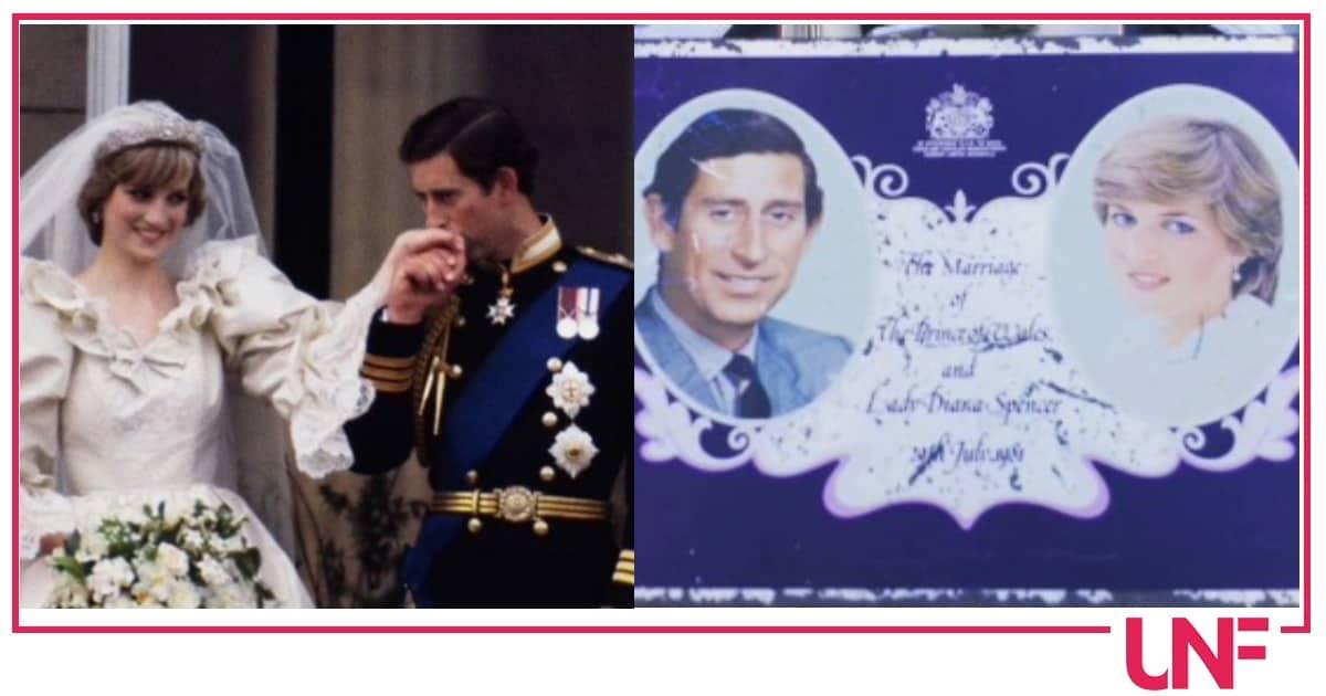 La fetta di torta di Carlo e Diana venduta a una cifra folle
