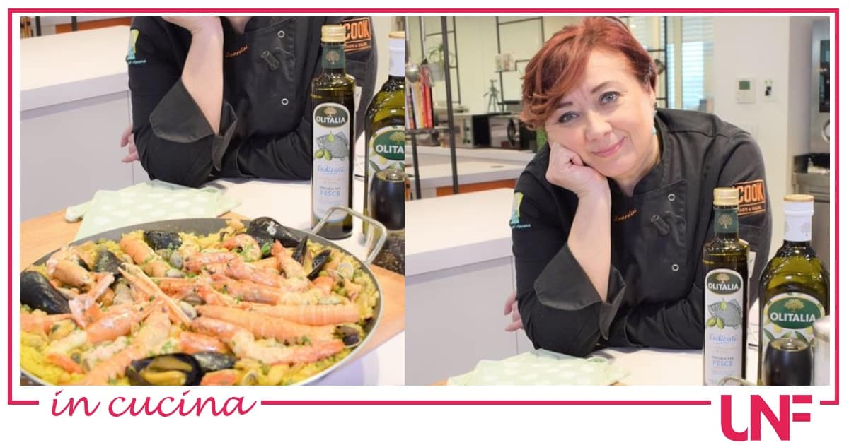 Paella de mariscos, la ricetta di Zia Cri