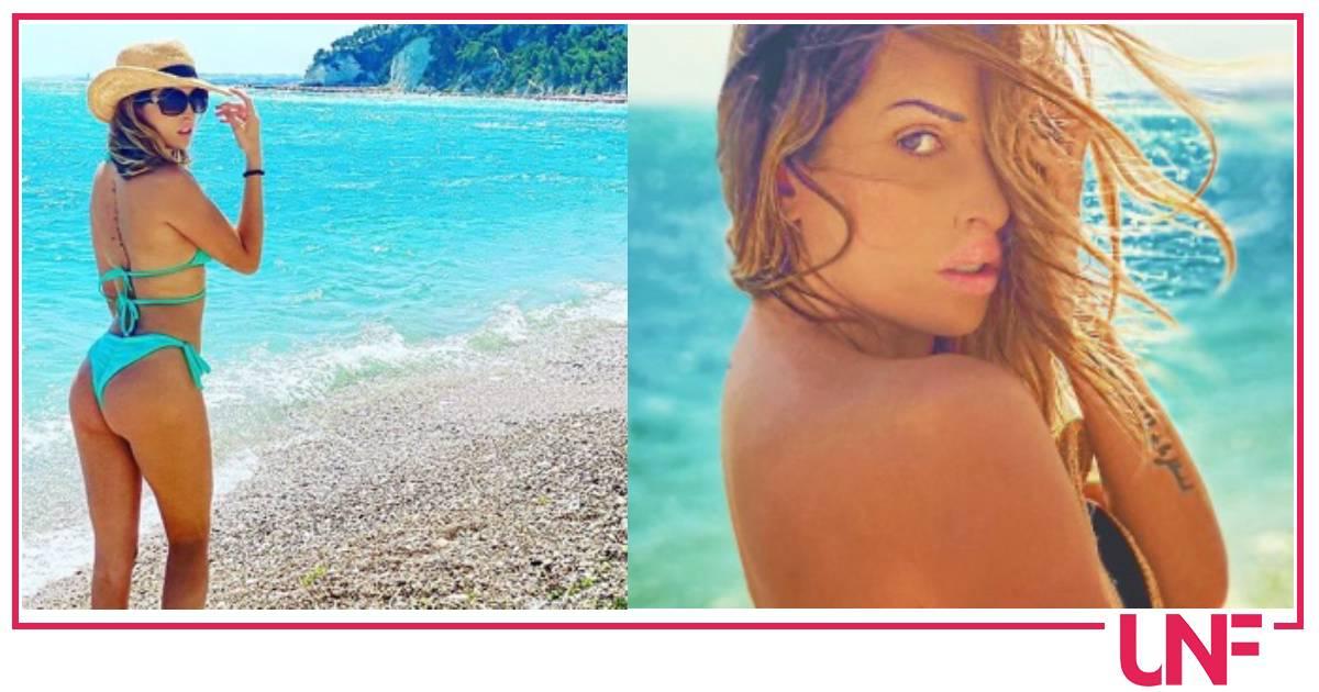 Gessica Notaro è bellissima al mare e in topless
