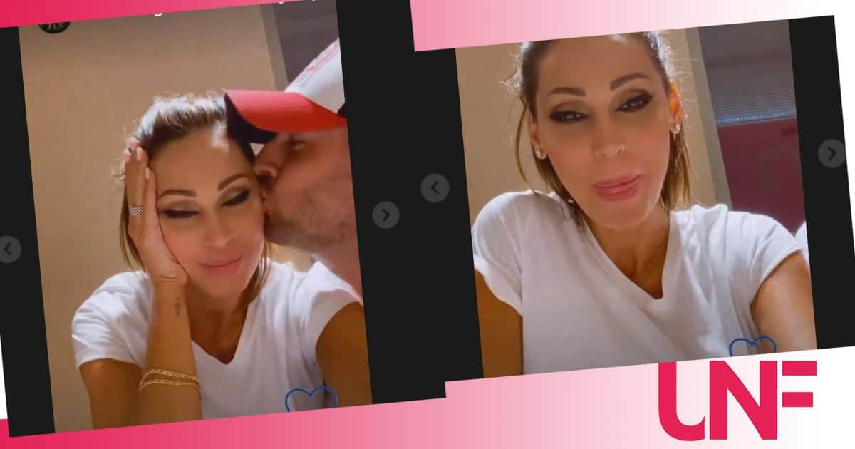 Primo video social per Anna Tatangelo e Livio Cori: sorrisi e scherzi insieme