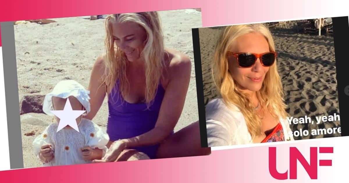 Il dolce compleanno di Eleonora Daniele è con la piccola Carlotta