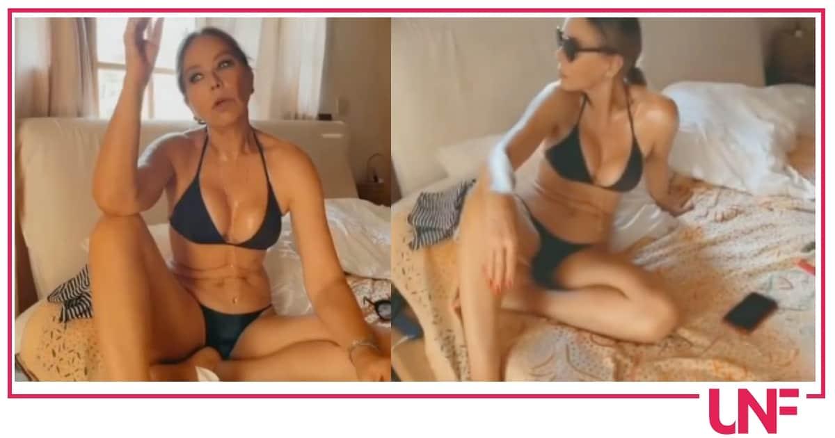 Ornella Muti in bikini dopo la dieta detox, a 66 anni è stupenda