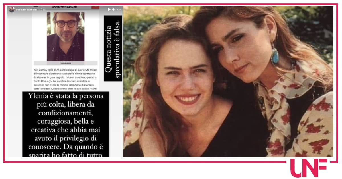 Yari ha ritrovato Ylenia Carrisi? La risposta del figlio di Al Bano e Romina