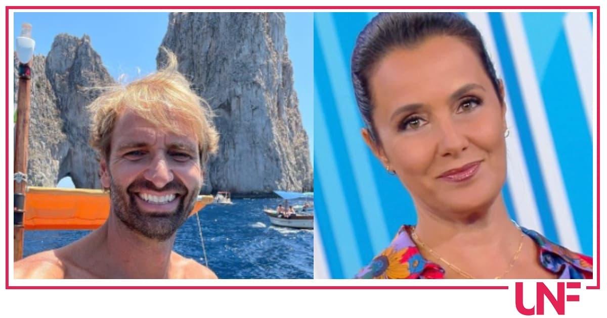 Roberta Capua ricorda la storia d'amore con Massimiliano Rosolino