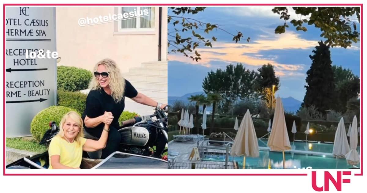 Antonella Clerici ed Evelina Flachi si rimettono in forma nello stesso hotel