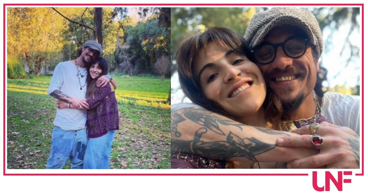 Dani Osvaldo e la figlia di Maradona, la coppia festeggia il loro amore