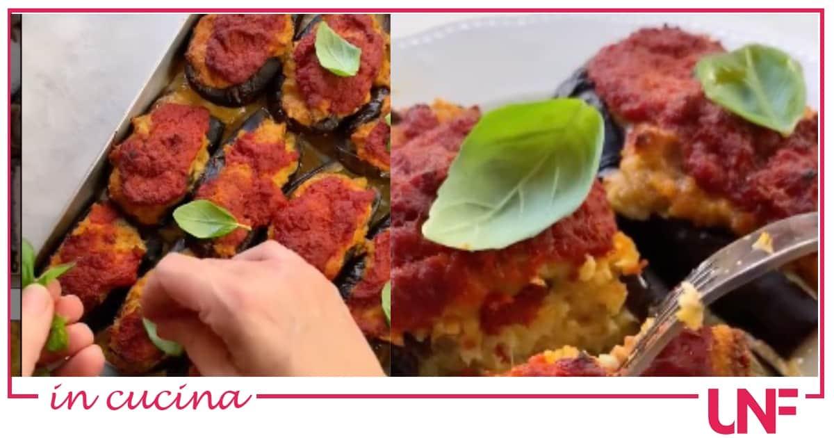 Ricette Natalia Cattelani: melanzane ripiene alla calabrese (Video)