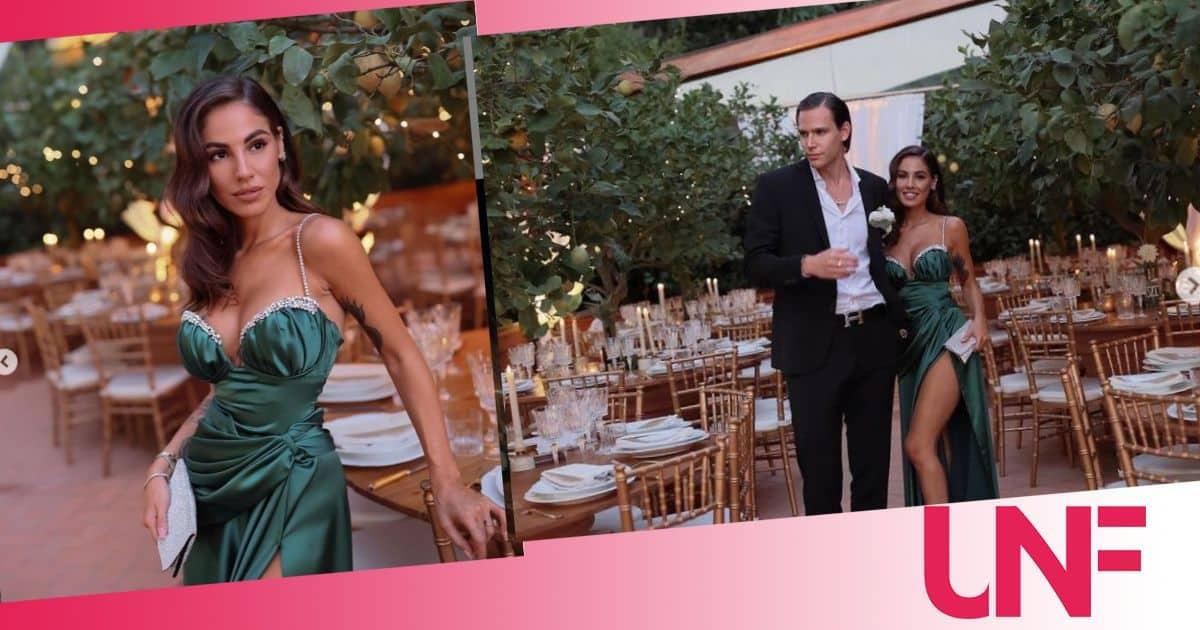 Giulia de Lellis e Carlo meravigliosi al matrimonio di Veronica (FOTO)