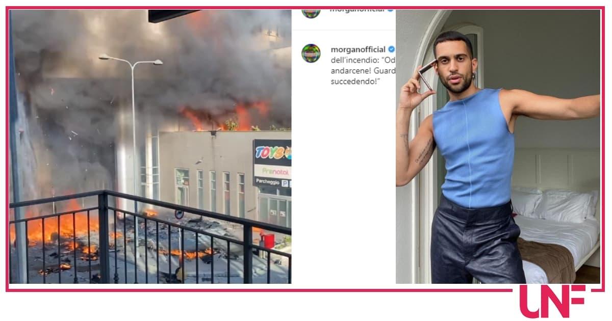 Incendio grattacielo Milano: Mahmood ci vive, Morgan presente