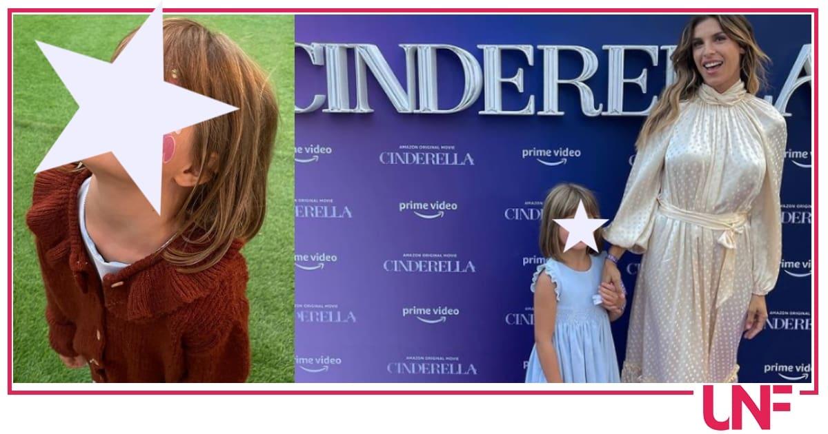 Elisabetta Canalis sul red carpet di Cinderella con la figlia Skyler